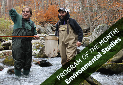 Program of the Month Environemental Studies