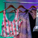 Clothes on Display at Fashion Event