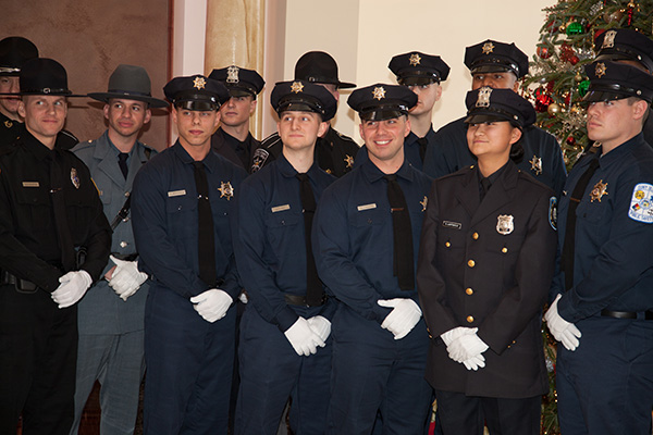 Graduates of the Police Acacademy at SUNY Ulster
