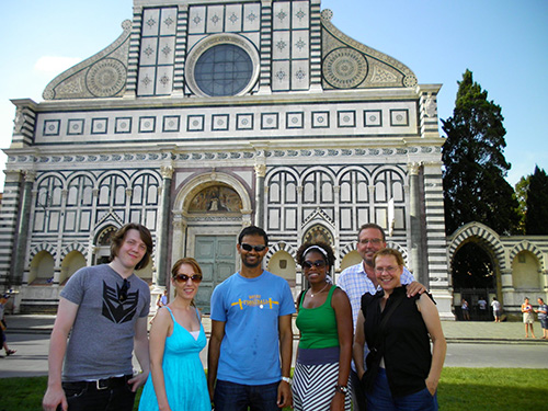 Students in Florence