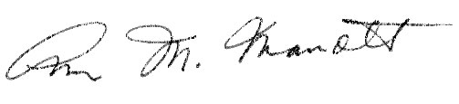 Ann Marrott's signature
