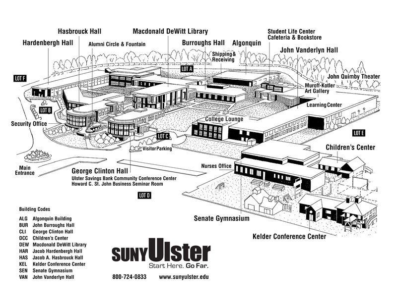 Stone Ridge Campus Map