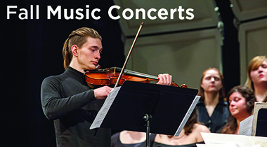 music concert with violinist