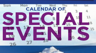 calendar of special events