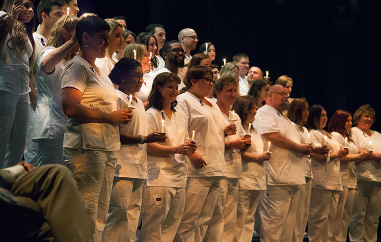 News and Events- Nurse Pinning Ceremony