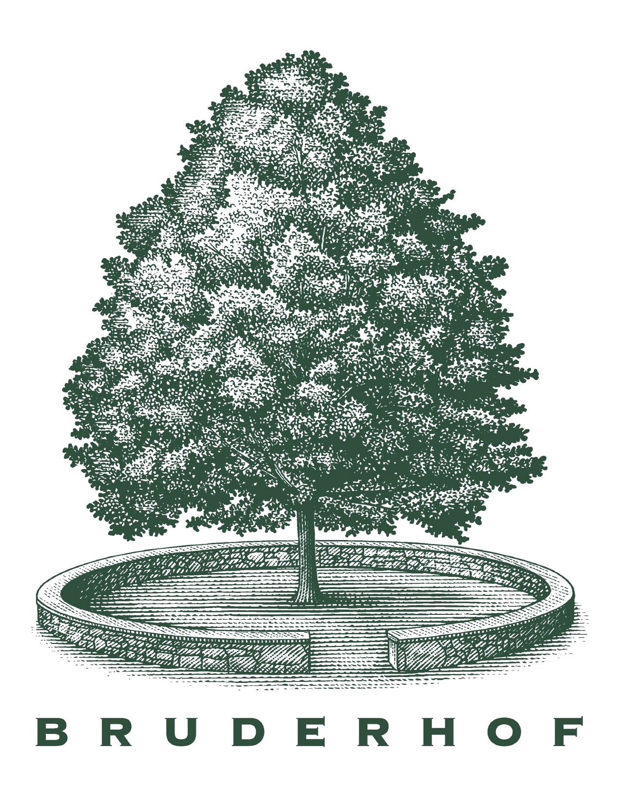 Tree and Bruderhof logo