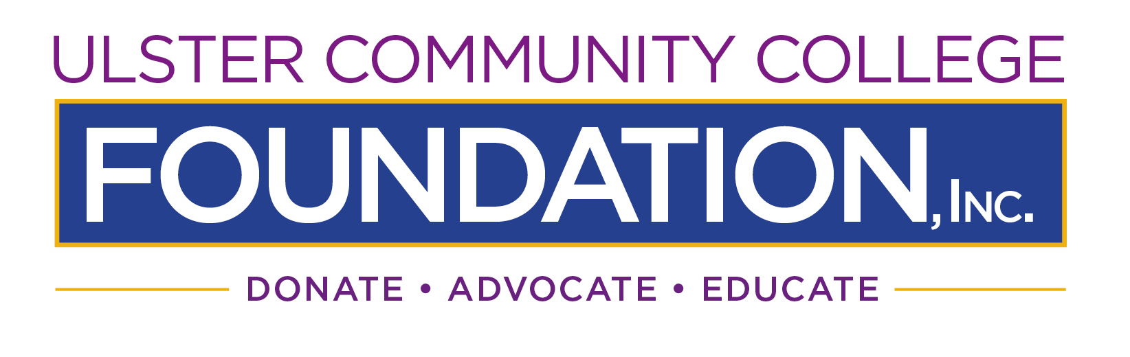 Ulster Community College Foundation logo