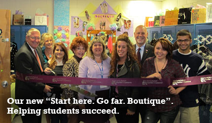 Start Here. Go Far. Boutique