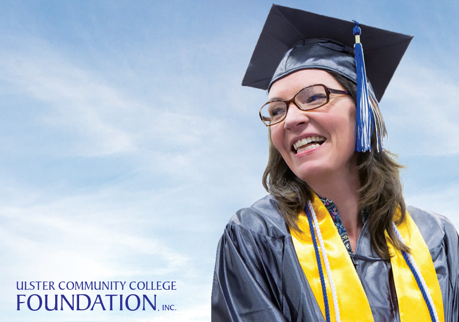 Adult graduating student for Scholarship Portal