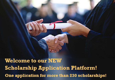Welcome to our New Scholarship Platform