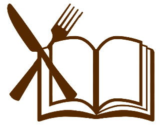 book with fork and knire
