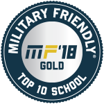 Military Friendly MF18 Gold Top Ten School