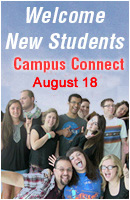 Campus Connect: Welcome new students
